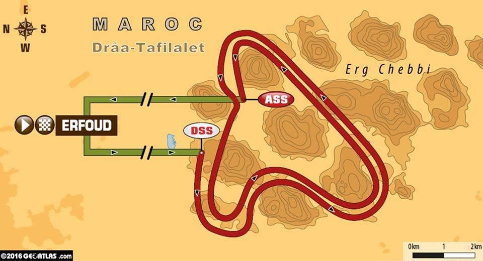 Stage 5 Afriquia Merzouga Dakar Rally Series 2016