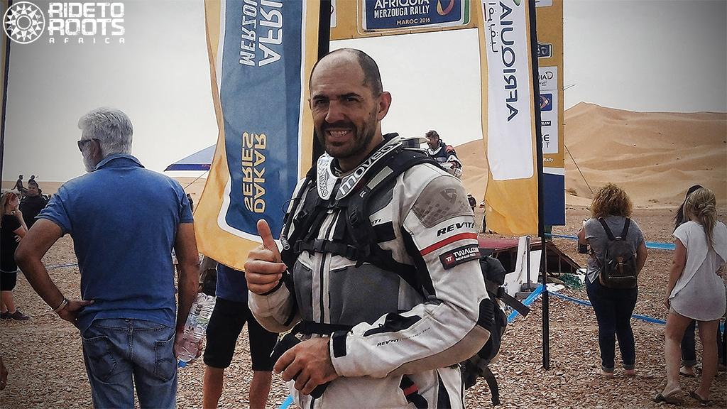 End stage 5 Afriquia Merzouga Dakar Rally Series